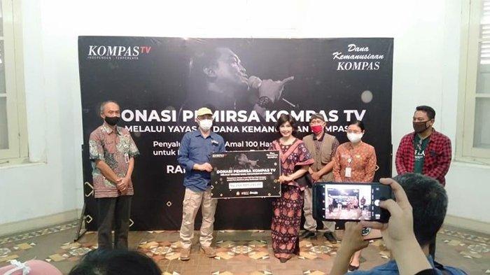 KG Media dan Yayasan Dana Kemanusiaan Kompas Beri Bantuan Kepada Para Seniman Solo dan Yogyakarta