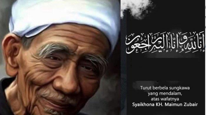 KH Maimoen Zubair meninggal dunia, insha Allah husnul khotimah.