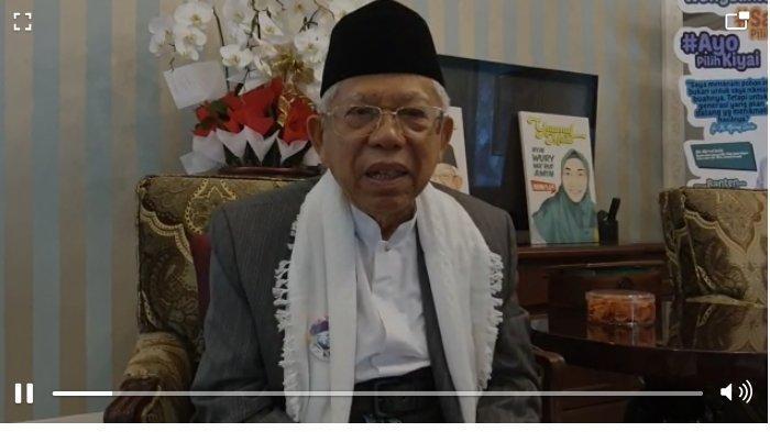 KH Ma'ruf Amin: Selamat Ultah Tribunnews, Terus Berjaya dan Sukses