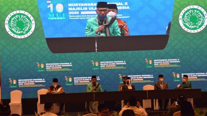 Musyawarah Nasional (Munas) X Majelis Ulama Indonesia (MUI) menetapkan KH Miftachul Akhyar, Rais Aam Pengurus Besar Nahdlatul Ulama, sebagai Ketua Umum MUI periode 2020-2025.
