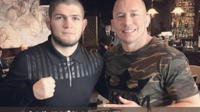 Legenda UFC Kaget Khabib Nurmagomedov Putuskan Pensiun Usai Menang Lawan Gaethje