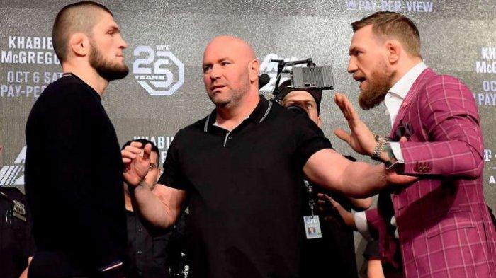 Khabib Nurmagomedov menilai Conor McGregor mendapat bantuan untuk merusak bus yang ditumpanginya sebelum laga UFC 223 beberapa waktu lalu.