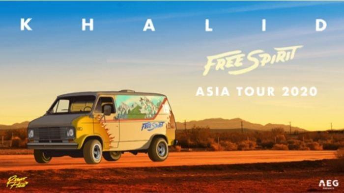 Ticket On Sale Now: 'Khalid Free Spirit World Tour' 2020 Asia