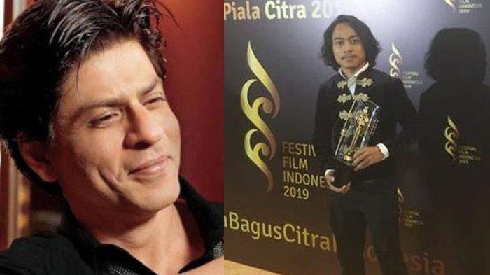 Muhammad Khan Dedikasikan Piala Citra untuk Shah Rukh Khan, Sang Idola Pun Bereaksi