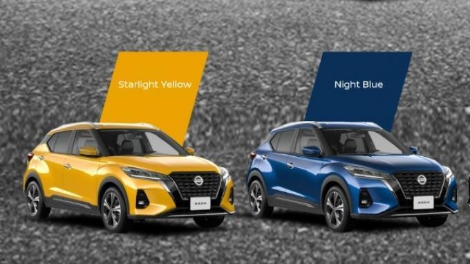 Nissan Kicks Rilis Varian Warna Baru Mono Tone dan Two Tone