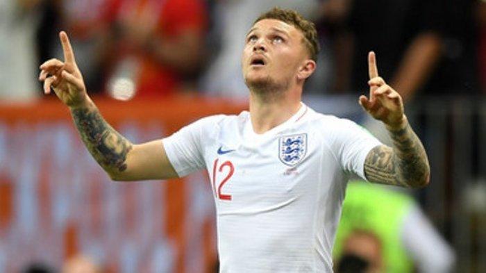 Kieran Trippier Dapat Julukan David Beckham 'Anyar' Usai Tendangan Bebasnya Tembus Gawang Kroasia