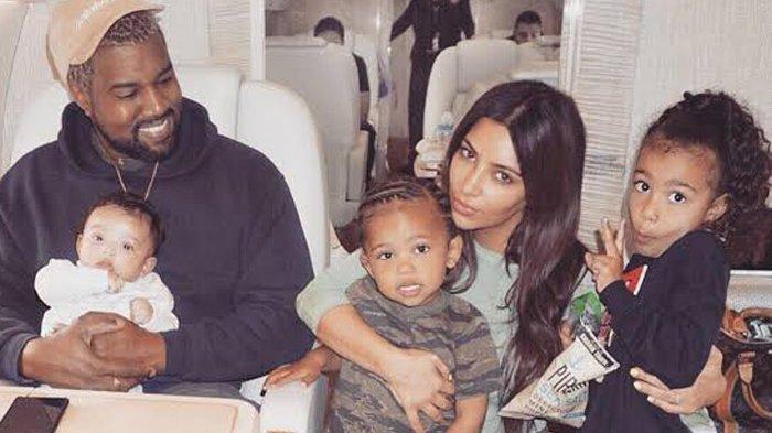 Keluarga Kim Kardashian dan Kanye West
