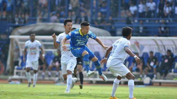 Kim Jefrrey Kurniawan mencetak gol pertama PERSIB di menit ke-6
