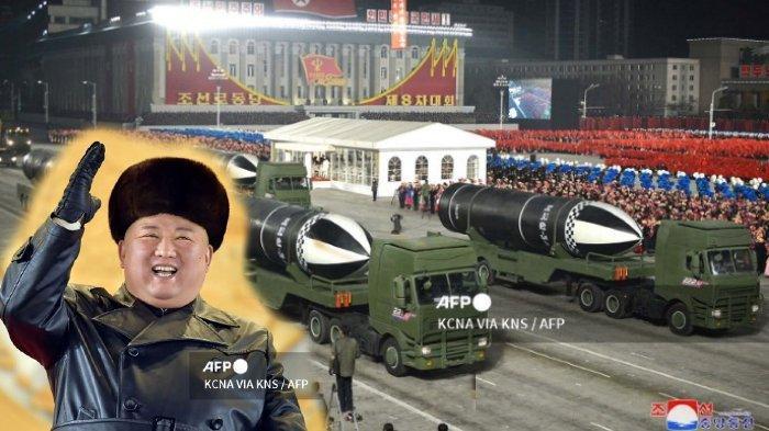 Kim Jong Un Tersenyum Lebar saat Korea Utara Pamerkan Senjata yang Disebut Senjata Terkuat di Dunia