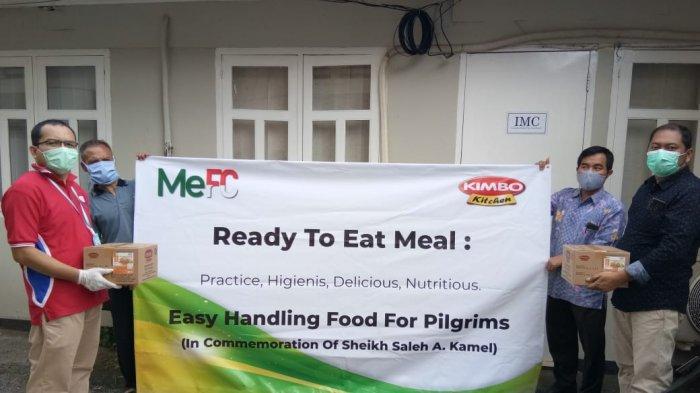 Kimbo Ekspor Makanan Siap Saji ke Arab Saudi