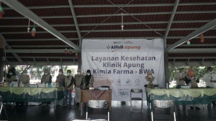 Klinik Apung Kimia Farma dan BWA Layani Kesehatan Gratis di Kepulauan Seribu