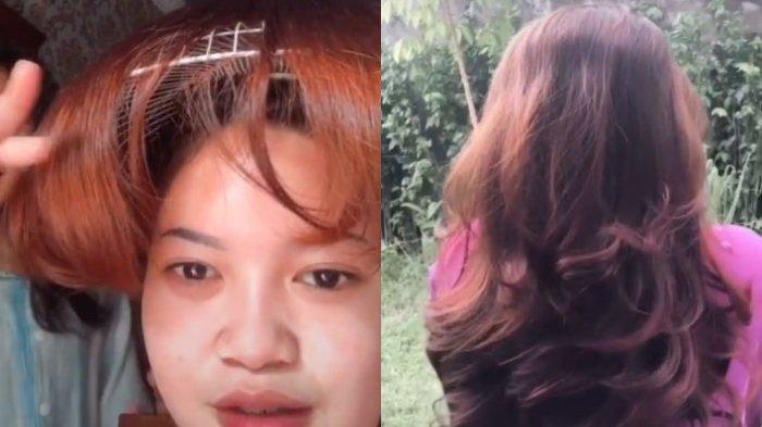 VIRAL Wanita Asal Jambi Potong Rambut Pakai Tutup Kipas Angin, Merasa Puas setelah Lihat Hasilnya
