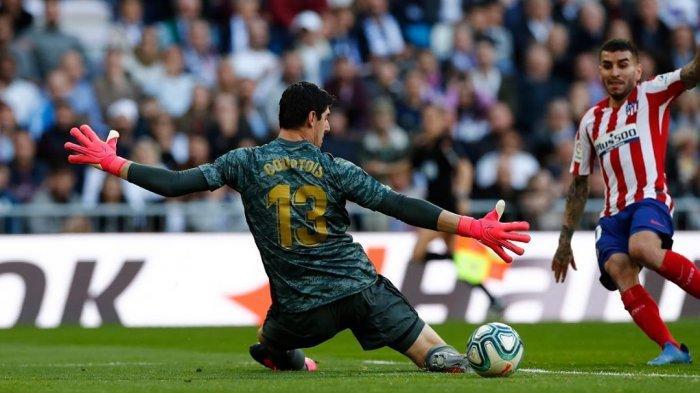 Kiper andalan Real Madrid, Thibaut Courtois