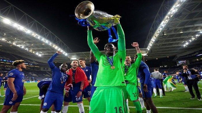 HASIL Liga Champions, Chelsea Amankan Gelar Juara, Edouard Mendy Ukir Rekor Penuh Sejarah - Tribunnews.com Mobile