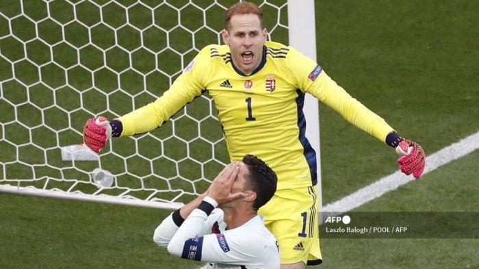 HASIL BABAK PERTAMA Hungaria vs Portugal Euro 2020: Peluang Ronaldo & Jota Belum Maksimal, Skor 0-0