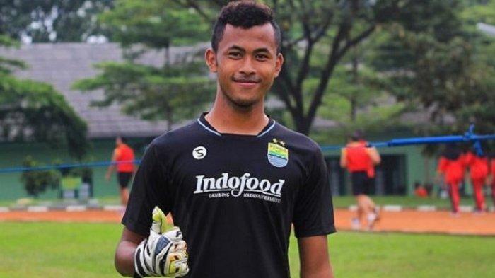 Kiper Persib Bandung U-19 dan Timnas U-19 Indonesia, Aqil Savik.