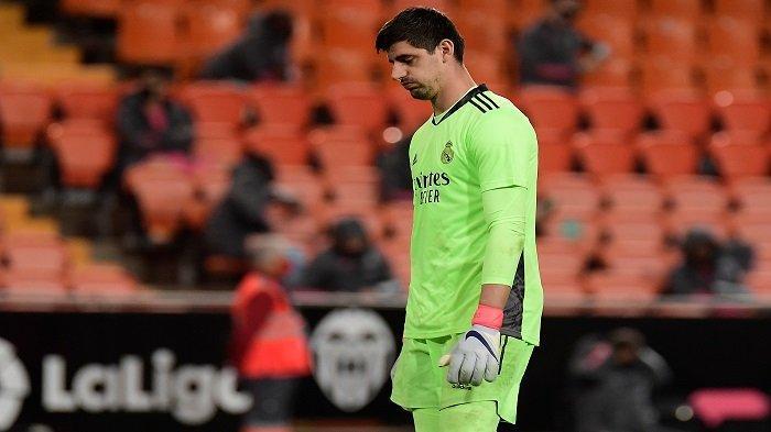 Runtuhnya Dinding Pertahanan Real Madrid Ancam Ambisi Pribadi Thibaut Courtois