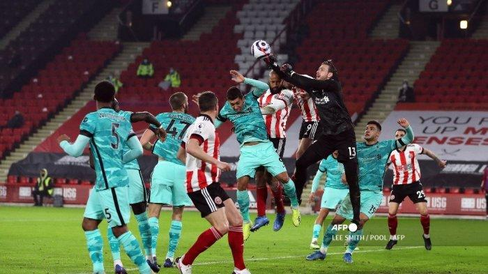 HASIL Sheffield vs Liverpool Babak Pertama Liga Inggris: Skor 0-0, Mane, Salah & Firmino Mati Kutu
