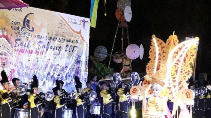 Pengunjung WIN Carnival Sail Sabang 2017 Membludak