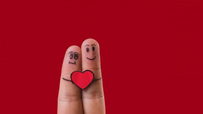 Ilustrasi kisah cinta