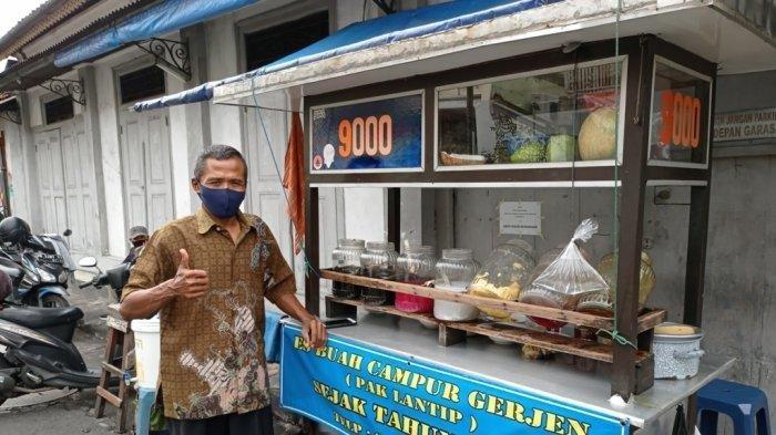 Kisah Dibalik Es Buah Campur Gerjen Pak Lantip Yogyakarta, Ternyata Sudah Eksis Sejak 1985