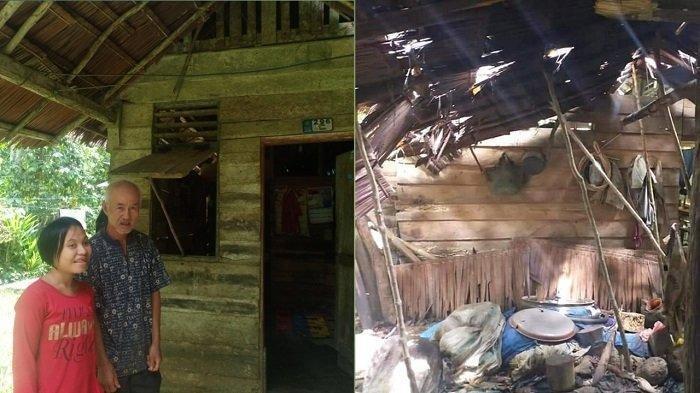KISAH Kakek Tanggo, Tinggal Bersama Istri Berumur 20 Tahun yang Autis di Rumah Tak Layak Huni