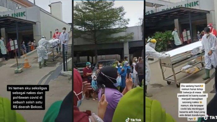 Kisah nakes di Bekasi meninggal dunia karena Covid-19 saat sedang hamil viral