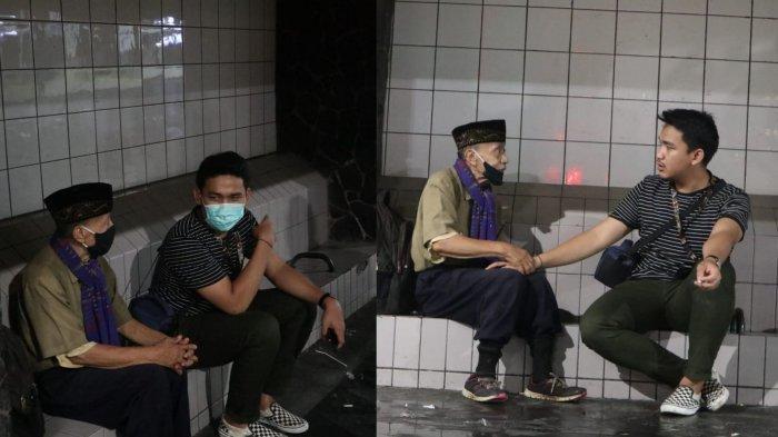 VIRAL Kisah Pak Wahab, Kakek Usia 78 Tahun Tuntun Sepeda Keliling Jakarta untuk Tawarkan Jasa Pijat