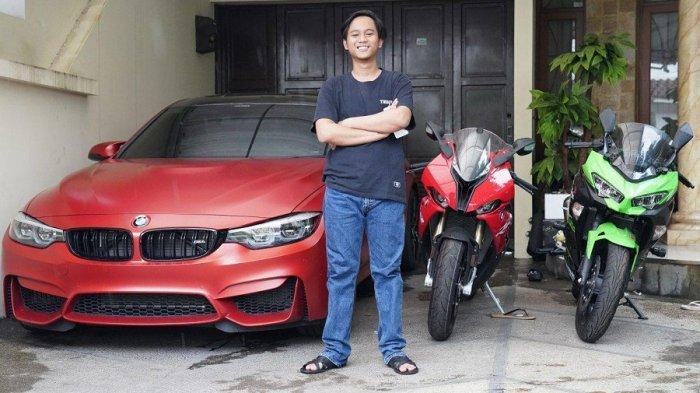 Kisah Sukses Seorang Doni Salmanan Sang Kolektor Mobil dan Motor Sport