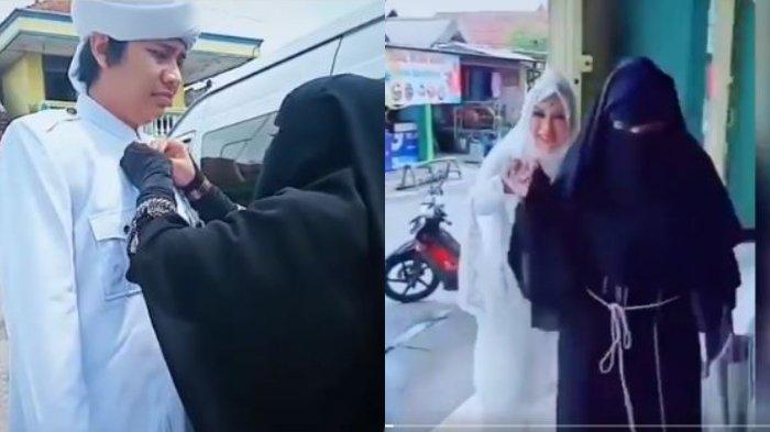 Viral seorang istri mengantar suaminya menikahi istri kedua tanpa terlihat marah ataupun sedih. Begini sosok istri pertama di mata kerabat.