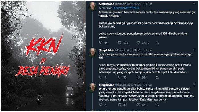 Kisah Viral KKN di Desa Penari, SimpleMan Minta Maaf Tapi ...