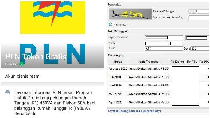 Klaim token listrik PLN bulan Agustus 2020 dapat dilakukan mulai Sabtu (1/8/2020). Login www.pln.co.id atau bisa WA 08122123123.