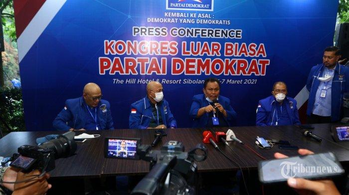 Kisruh Demokrat Berpotensi Menyeret Pemerintahan Jokowi, KOMBATAN Minta Moeldoko Dicopot dari KSP