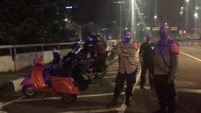 Kerumunan Remaja Main Tiktok Hingga Klub Motor Dibubarkan, Ada yang Lari Sambil Pegang Tongsis