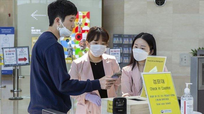 ILUSTRASI - Korea Selatan Mendeteksi Kluster Baru Covid-19, 2 Hari setelah Fasilitas Publik Kembali Normal