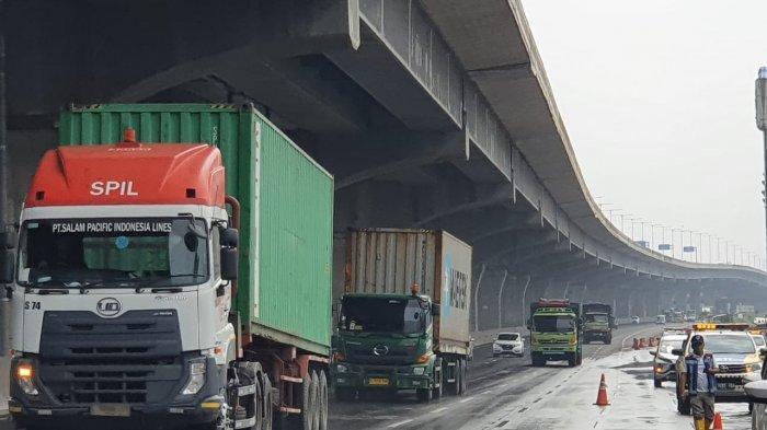 Pasca Banjir, Km 19 Tol Jakarta-Cikampek Arah ke Barat Hari Ini Sudah Bisa Dilewati