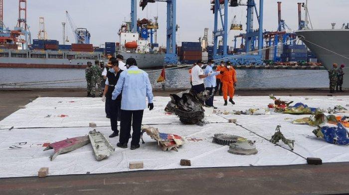KNKT Memprediksi Pesawat Sriwijaya Air SJ-182 Tidak Mengalami Ledakan Sebelum Membentur Air
