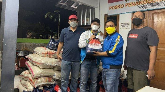 DPP KNPI Bantu Warga Terdampak Covid-19 di Jakarta Utara
