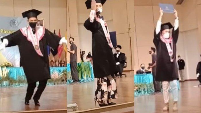 VIRAL Video 3 Mahasiswa ISI Yogya Bergaya Bak Model saat Wisuda, Pengunggah Ungkap Cerita Lengkapnya
