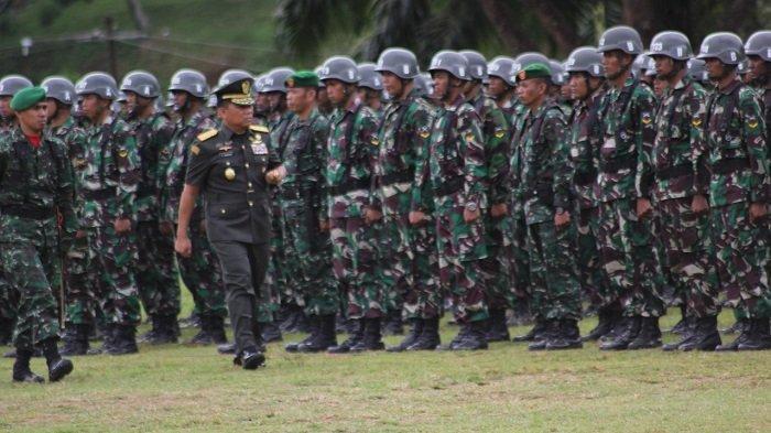 Pangdam XVII/Cenderawasih Pimpin Upacara Pembukaan Diktuba dan Diktama Gelombang I TNI AD