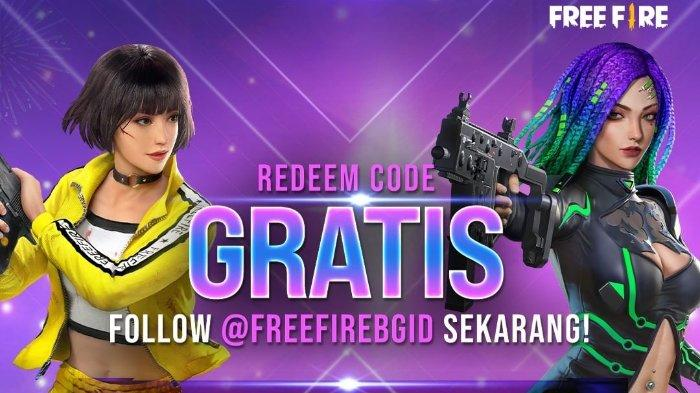 Kode Redeem FF Free Fire terbaru telah tersedia.