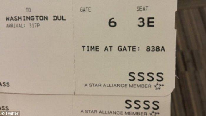 Mengetahui Arti Kode SSSS di Boarding Pass Pesawat