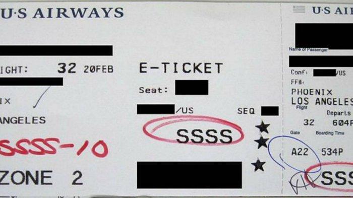 Makna di Balik Kode SSSS pada Boarding Pass yang Bikin Penumpang Was-was