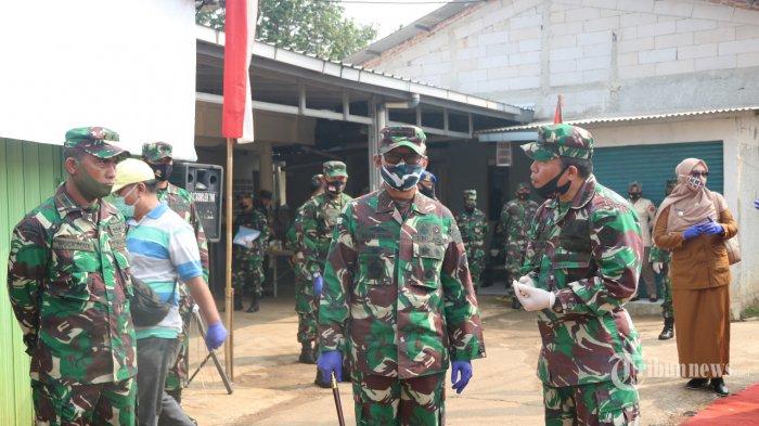 Peringati HUT Ke-10, Kodiklat TNI Bangun Saluran Drainase di Serpong