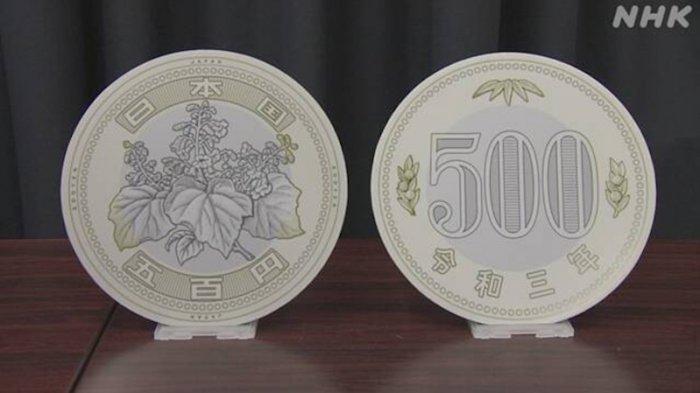 Koin Baru Jepang 500 Yen Diundur Baru Keluar November 2021