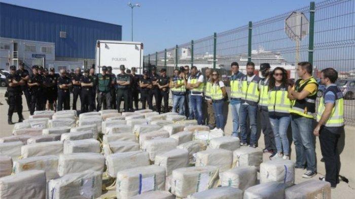 Wow, Polisi Temukan 3,7 Ton Narkoba Senilai Rp 3,5 Triliun di Bawah Dapur Sebuah Kapal