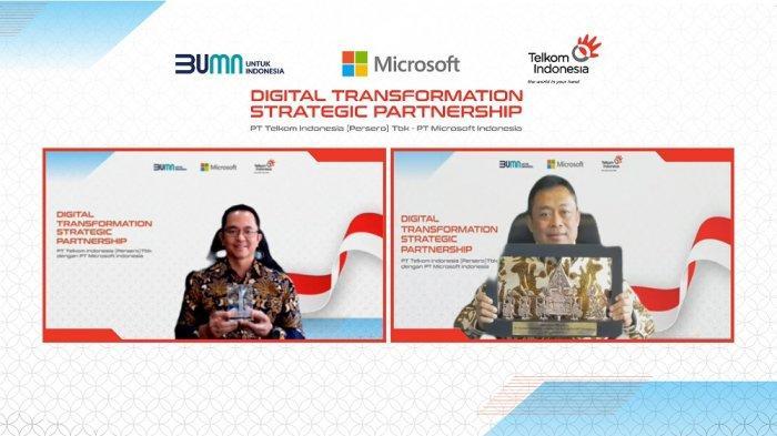 Kolaborasi Telkom dan Microsoft Demi Wujudkan Kedaulatan Digital Indonesia