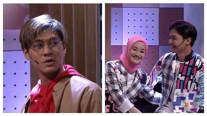 Kolase foto aktor Rizky Billar (kiri) bersama Dinda Hauw, dan Rey Mbayang dalam kanal YouTube Surya Citra Televisi (SCTV), Minggu (13/9/2020).