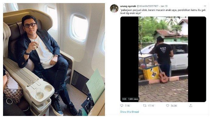 Arief Muhammad Tanggapi Video Viral Penjual Cilok yang Dilabrak Orang Tua Pacar