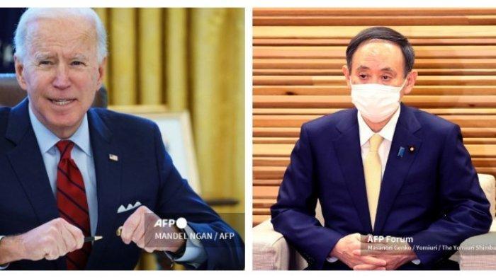 Biden Tegaskan Komitmen AS dengan Jepang, Termasuk Pulau yang Diklaim China